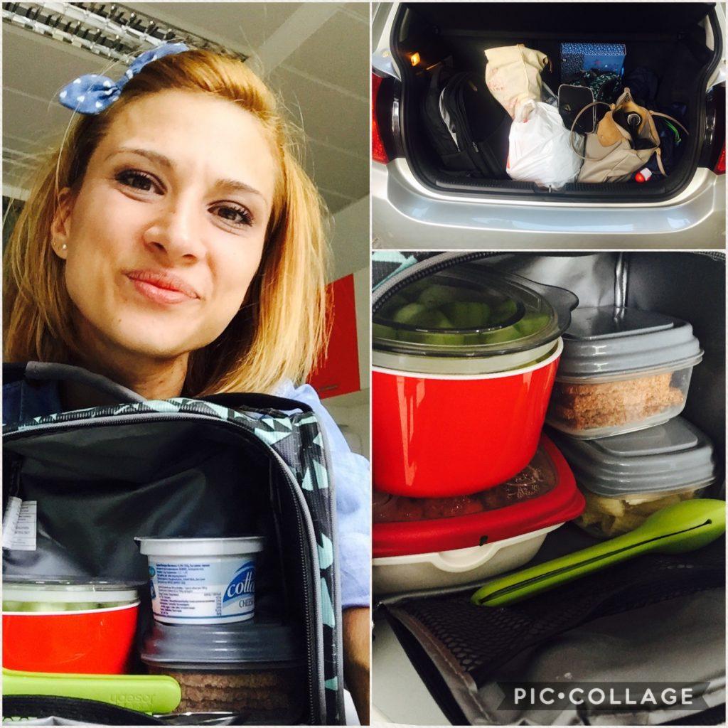 Голямо количество кутии с храна на кулинарката Лори