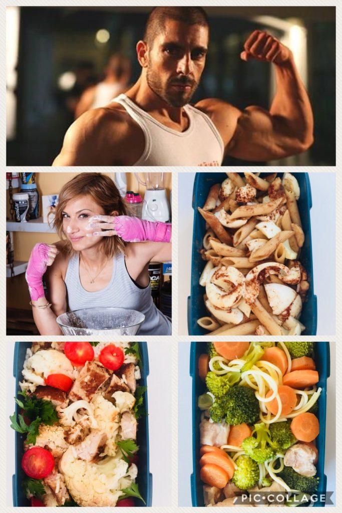 Тренировки по бокс, кик бокс на кулинарката Лори