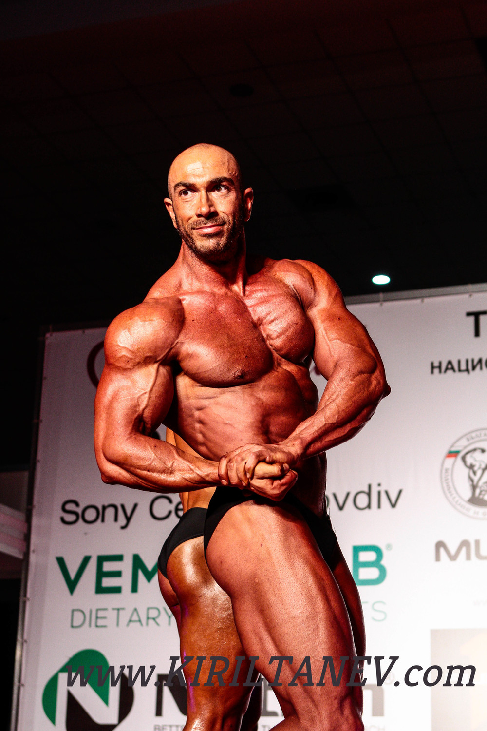 Ventsislav Dimitrov and his training and nutrition plan for maximum shredding
