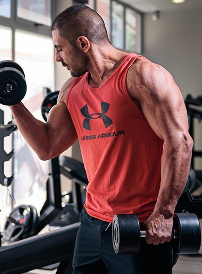 трупане на мускулна маса